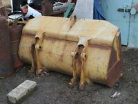 Bocket pelle loader