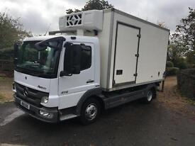 MERCEDES ATEGO 815 FRIDGE BOX 11 REG