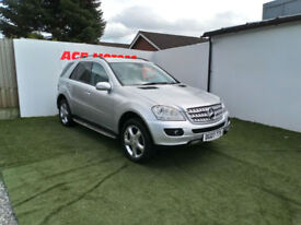 2007 MERCEDES-BENZ ML280 3.0TD CDI AUTO SPORT,ONLY 86000 MILES WITH FULL S/H