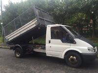 Ford Transit 3 Way Tipper 56 plate 12 months mot LOW MILES 56k