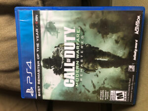 Call Of Duty - Modern Warfare Remastered for PS4