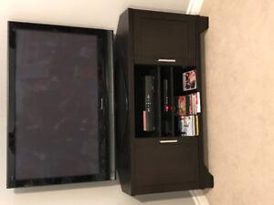 Flat Screen TV & Corner TV Stand