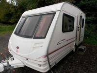 Sterling Eccles Jade 1999 2 Berth Lightweight End Kitchen Touring Caravan