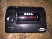 Sega master system 2 with alex kid pre installed