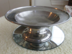 STAINLESS STEEL [stamped] STEMMED HORS D'OEUVRES COMPOTE