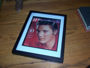 Framed Elvis Life Magazine