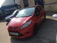 2010 FORD fiesta 1.6 zetec s 47k Hpi clear ideal first car! 100% all round