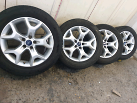 """17"""" Ford kuga mondeo focus transit connect galaxy alloy wheels"""