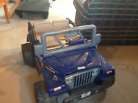 Jeep - Battery Operated - Excellent used condition