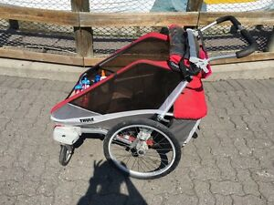 Thule chariot cougar 2 double stroller