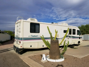 Winter escape RV in Arizona