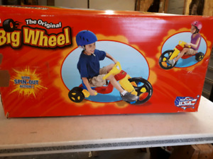 Bike big wheel