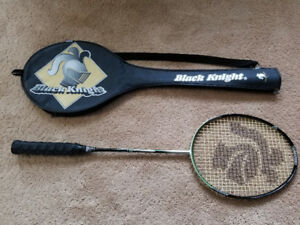 Black knight badminton racket. specs are in photo.