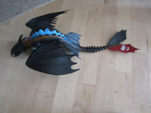 Large Toothless Dragon from How to Train Your Dragon