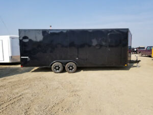 TAX IN! New Impact 22'v nose enclosed car hauler/cargo trailer