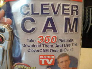Clever Cam 3 Digital Cameras In One - Brand New -takes 360 pics Kitchener / Waterloo Kitchener Area image 2