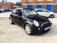 2002 Mini Cooper 1.6 Black Metallic