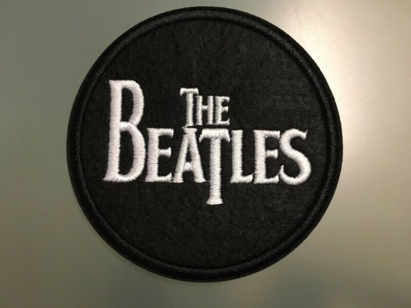 THE BEATLES Patch - Embroidered Iron On Patch 3 ""