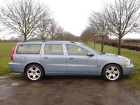 VOLVO V70 2.4 D5 TURBO (161 BHP) ~ AUTOMATIC ~ AIR ~ GOOD SPEC ~ LEATHER ~ IN VG