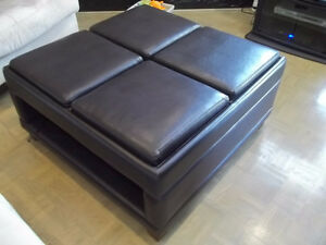 REDUCED AND MUST SELL THIS LARGE 4 TRAY OTTOMAN(CASH)