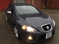 SEAT LEON 2.0 DIESEL 170 FR 550,HPI CLEAR,CAMBELT DONE AT 75K,MULTIMEDIA,SAT NAV