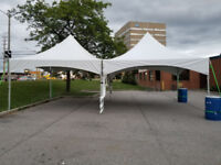Tent chair table rental party