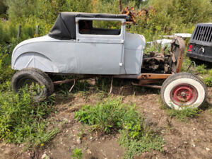1928 Ford Model A Sport Coupe $2500
