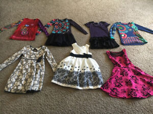 Girls clothing Dresses and tops