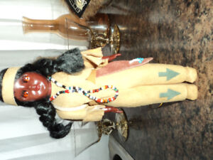 Beautiful Vintage Native Doll