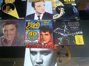 ELVIS PRESLEY VINYL 2LPS GATEFOLD DOUBLES SET 7-  FANS ONLY