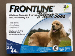 Frontline Plus for Dogs 23 to 44lbs, 12 Month Supply