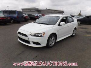 2015 MITSUBISHI LANCER GT 4D SEDAN AWD AT 2.4L GT