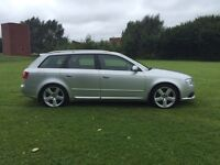 07 audi a4 s-line tdi estate 170 bhp**FULL SPEC**not bmw, merc,avensis,vectra,accord
