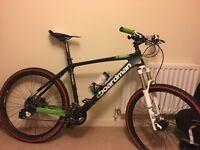 Boardman Pro C Carbon mountain bike Size LARGE