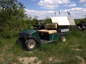 3 golf carts for sale