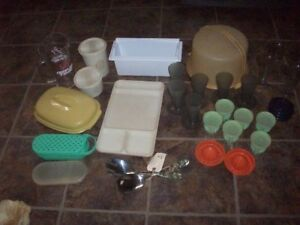 Various kitchen items