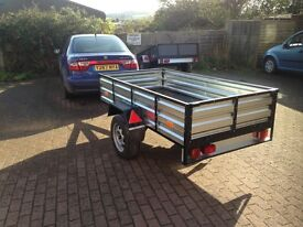 Car Trailer home made very strong 1 tonne load easy