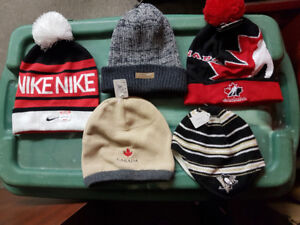 Assorted Winter Hats Starting @ 7.50