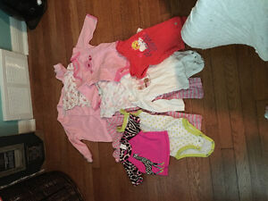 Huge lot of girls age 6-12 month clothes
