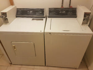 MUST GO! Clean & Working Coin Laundry Set $400 OBO For PICKUP