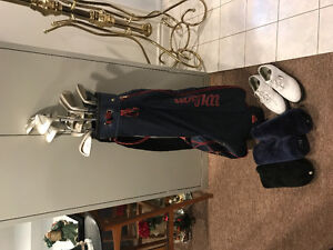 Women's Wilson Golf Club set with Nike shoes
