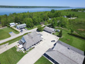 Spectacular Waterview Home with XL Heated Shop!