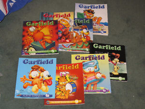 --BD  GARFIELD ##  8 ALBUMS  NO 1-2-3-4-20-28-42-57 / JIM DAVIIS