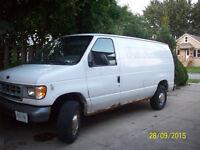 1999 Ford E-250 Minivan, Van