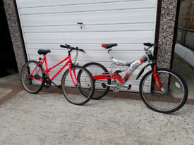 Ladies and boys bicycles for sale job lot