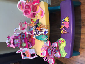 Ponyville Toys, Monster High, and Poly Pockets, etc