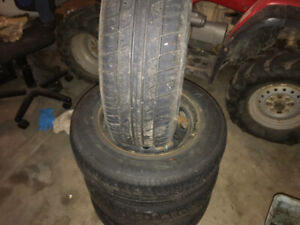 Tires and rims 185 70 14
