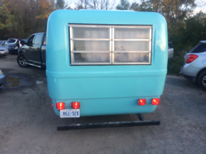 BOLER  /  TRILLIUM  Vintage Fiberglass Trailer repairs and Paint