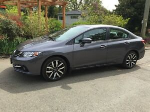 2015 Honda Civic Touring package Sedan