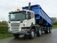 Scania P-340 8 X 4 Steel Body Tipper
